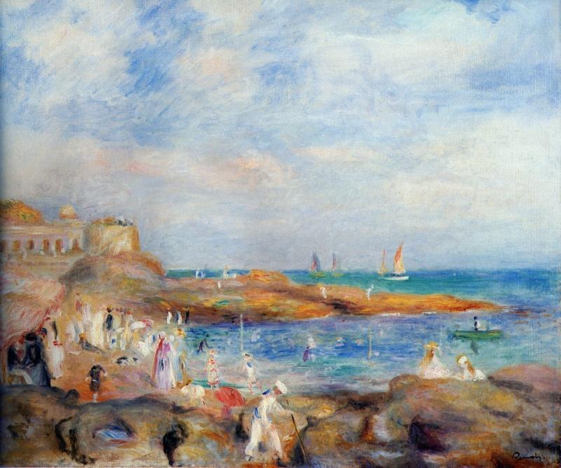 Reconstitution des Tableaux de Renoir à Pornic