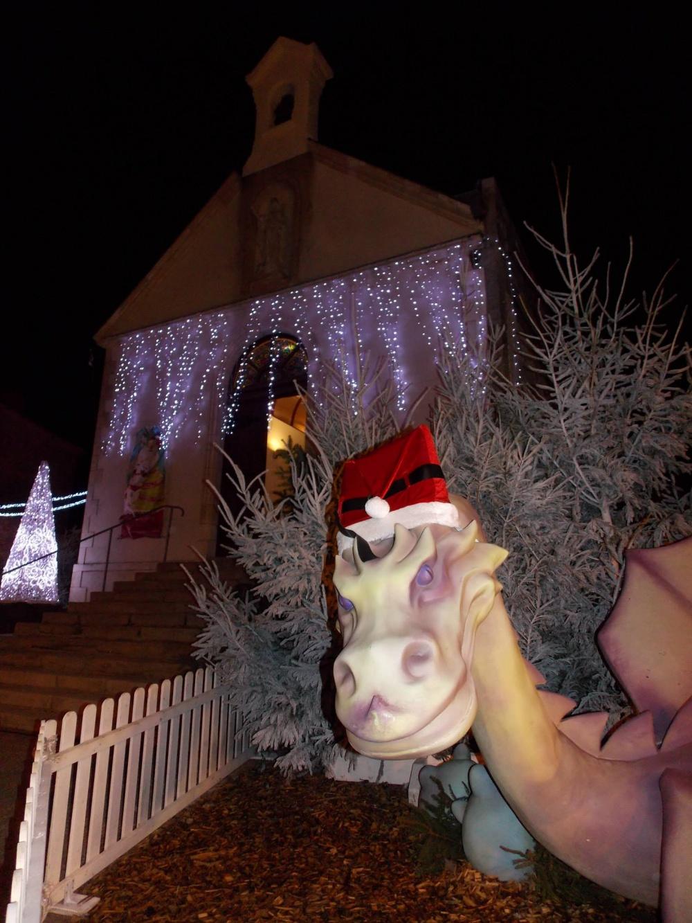 Un Noël féérique à Pornic avec Smaug en Guest Star