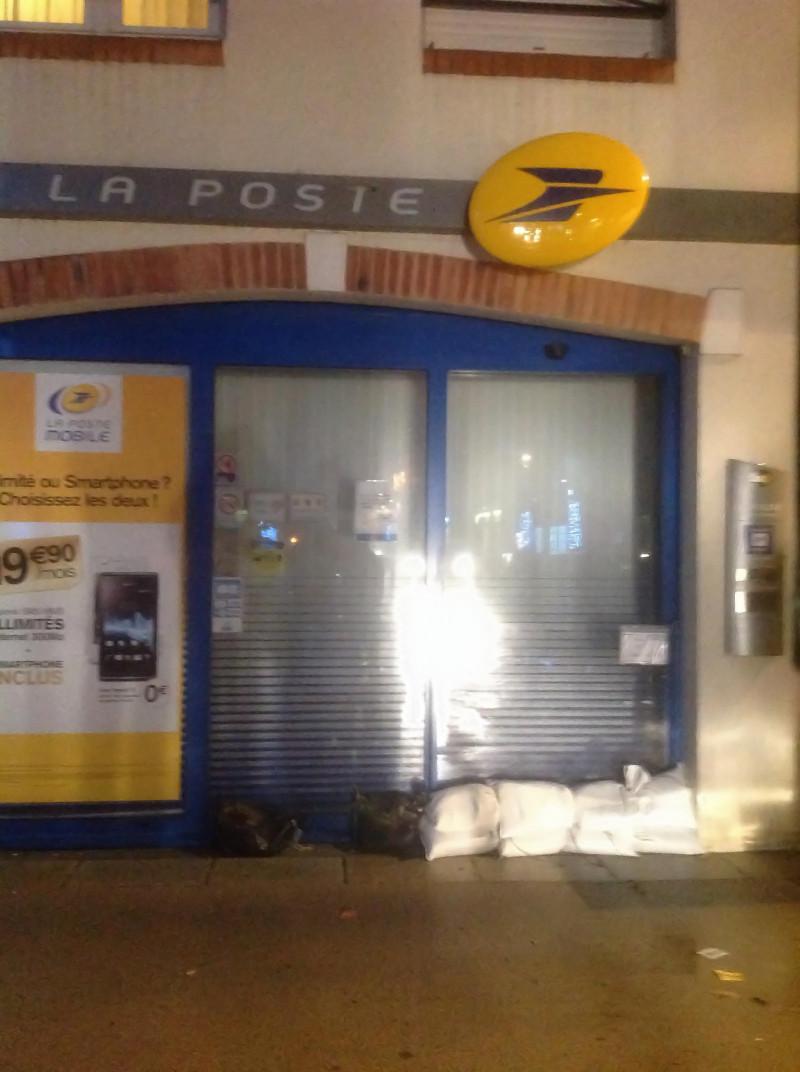 Pornic : la tempête du nouvel an sur le Vieux Port