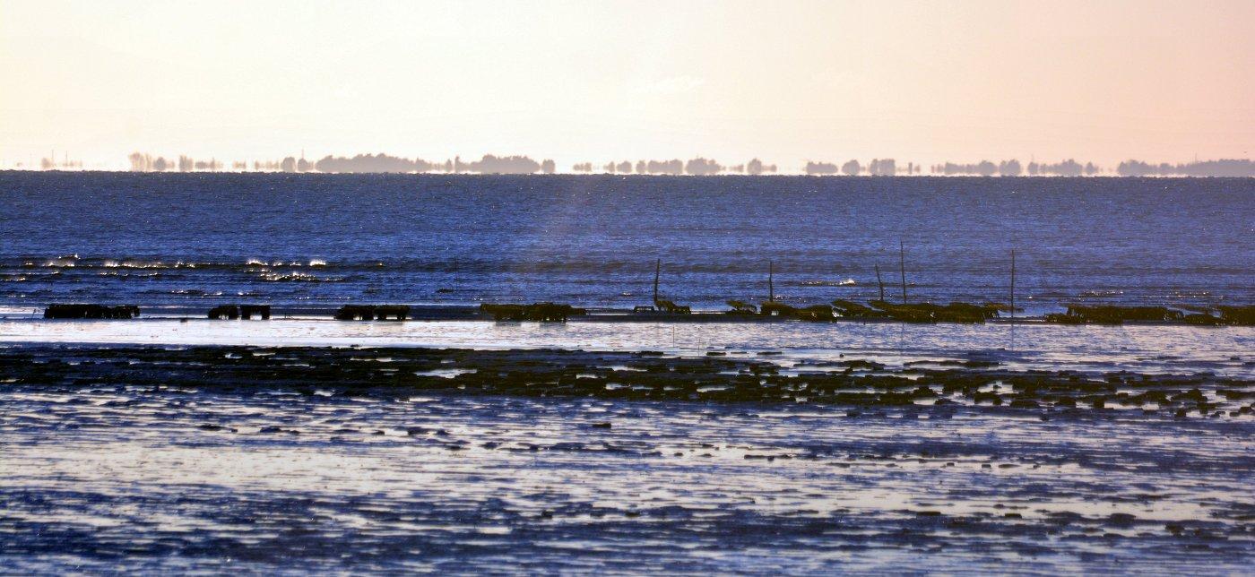 La Baie de Bourgneuf vue des Moutiers en Retz