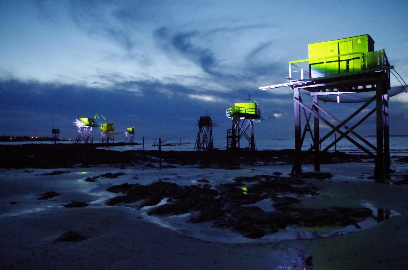 Route des Pêcheries à Tharon Plage