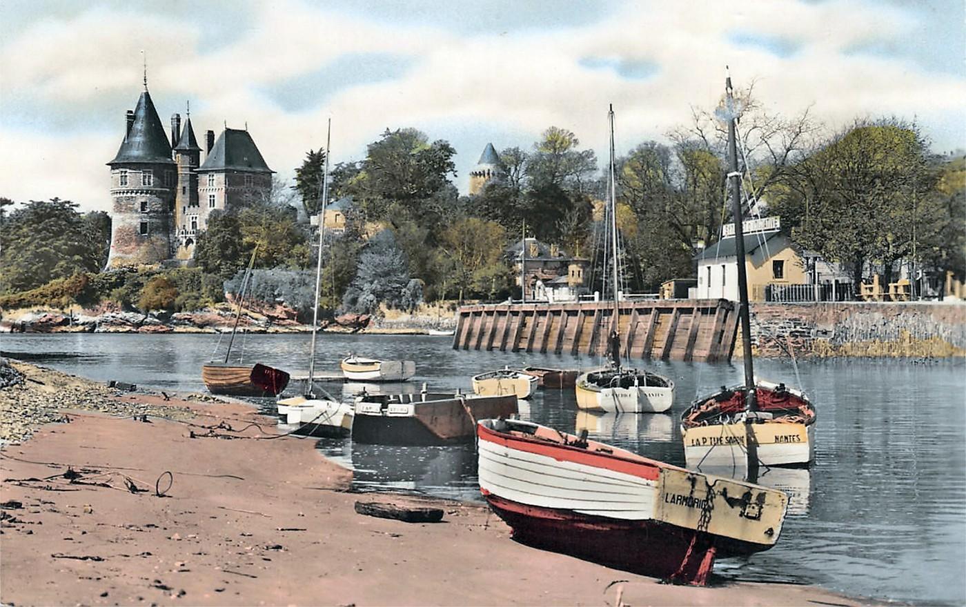Le Vieux Port de Pornic, il y a ... longtemps