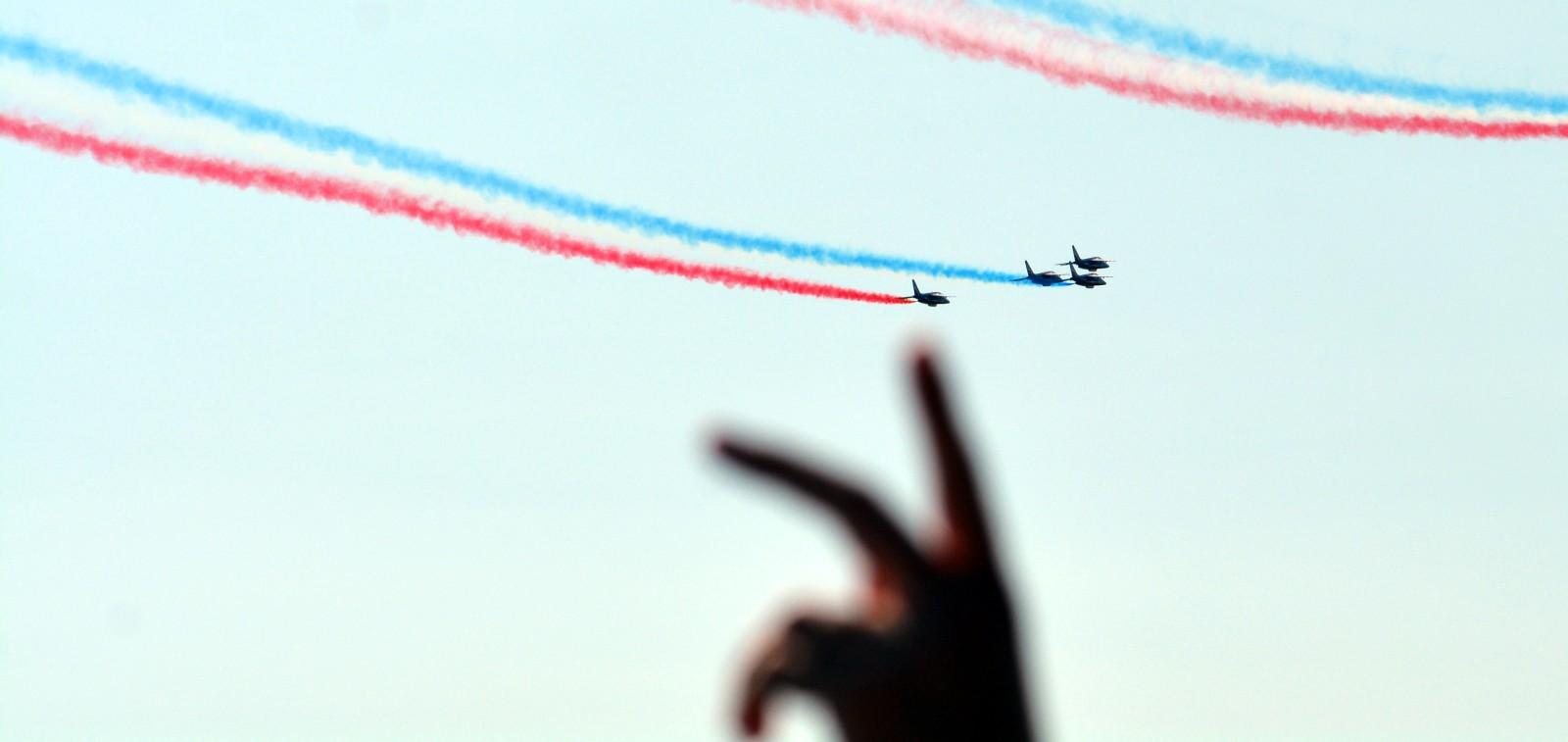 La Patrouille de France ! Que la Patrouille de France !