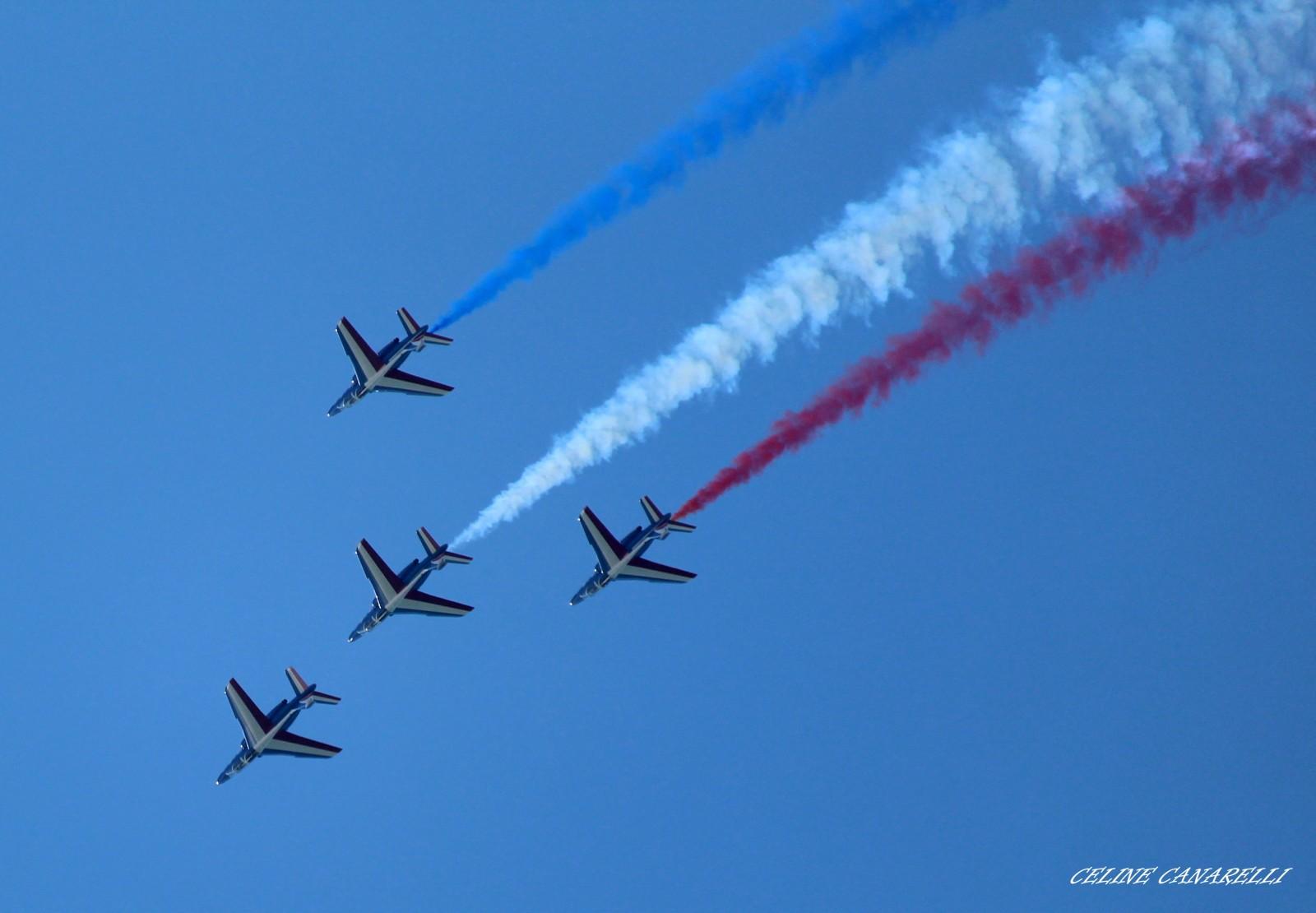 Magnifique journée avec la Patrouille de France
