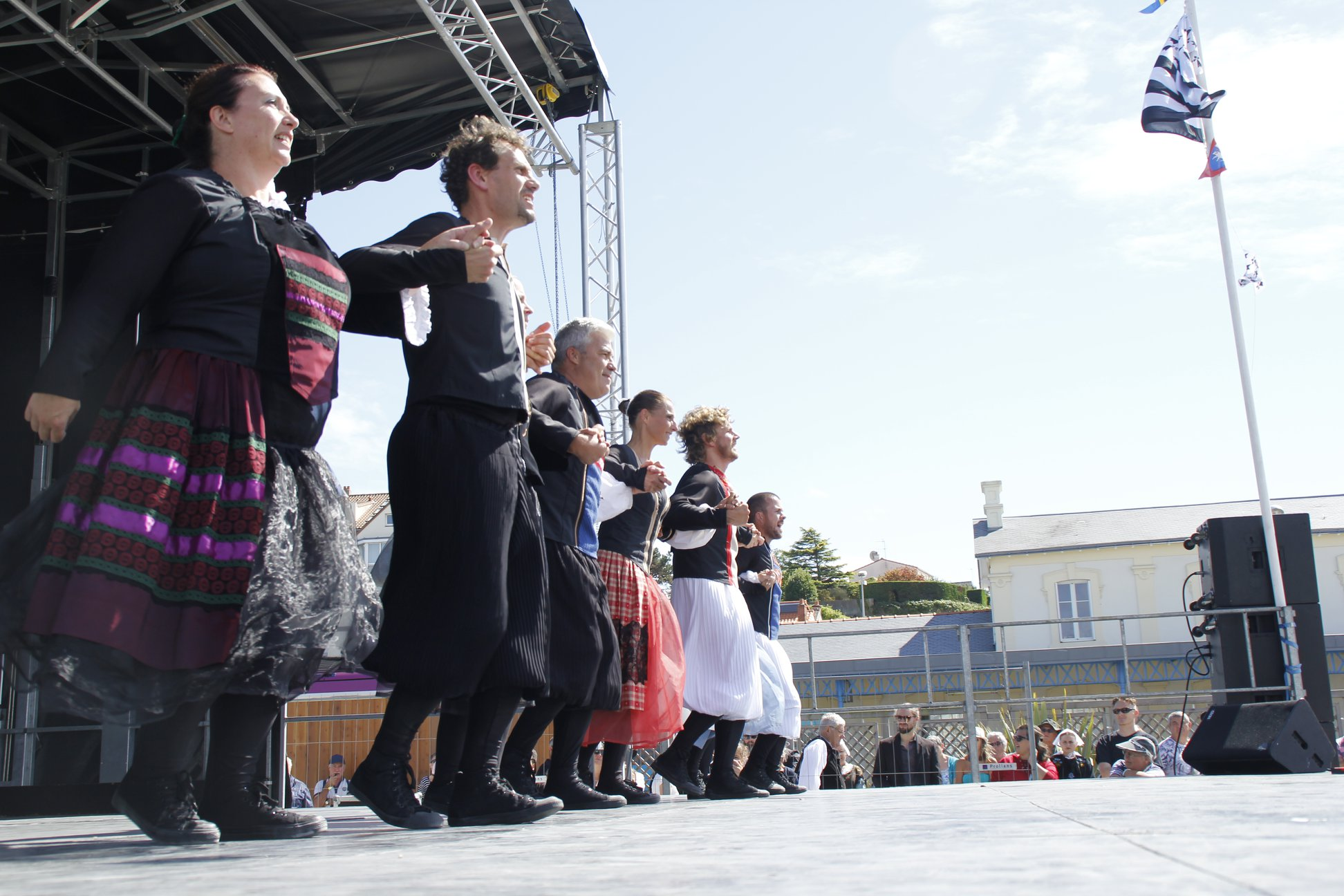 Grand Spectacle fête St. Gilles Pornic 2018