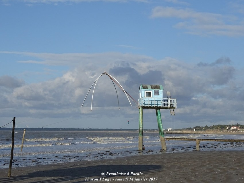 Balade à Tharon plage