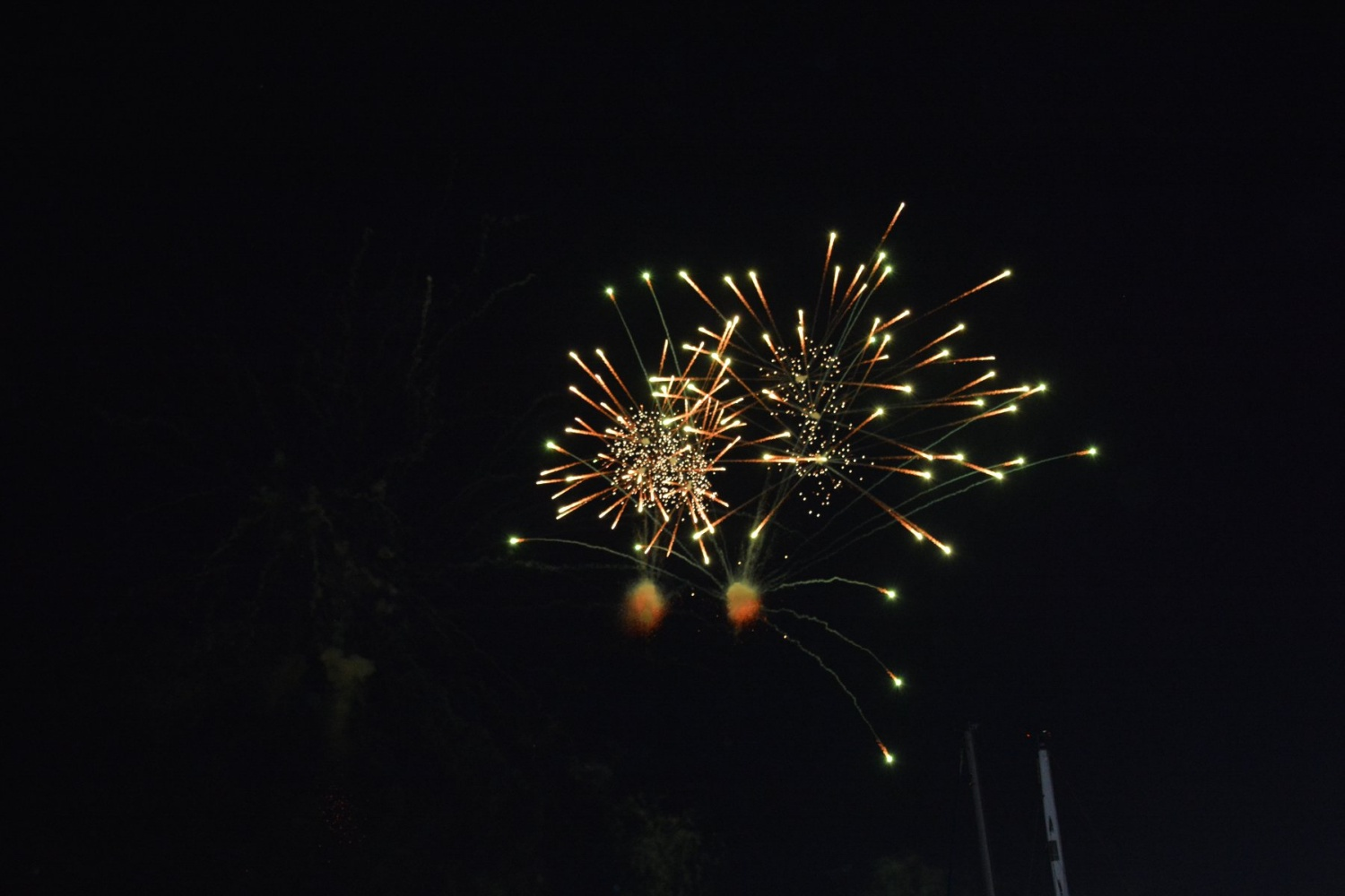 Feu d'artifice à Pornic