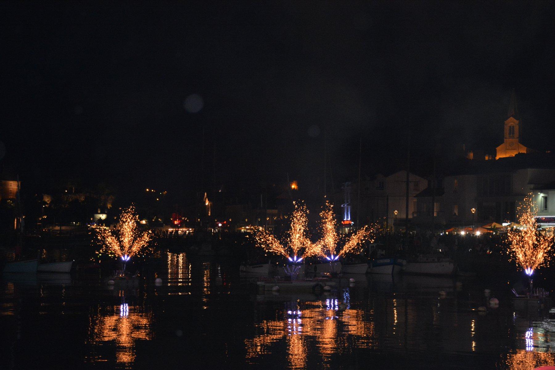 Une belle soirée au port de Pornic